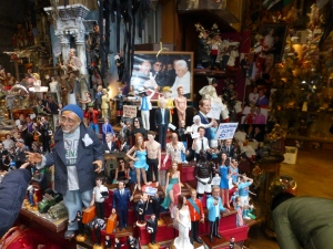 Berlusconi has joined the figures of fun for the crib creators