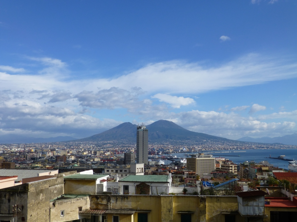 Looking over Naples from Concezione Monte Calvario